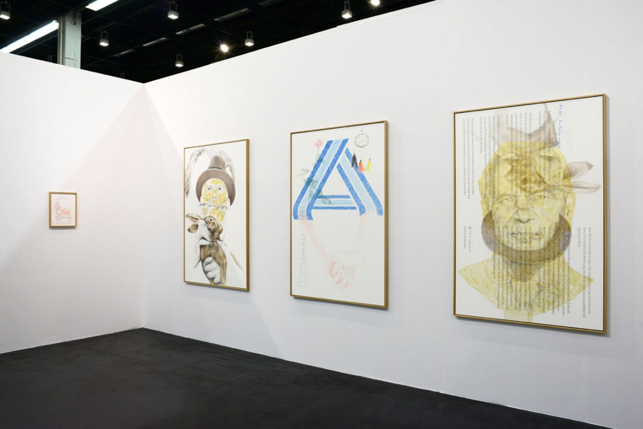 Ginerva Gambino Alex Wissel at Art Cologne 2017