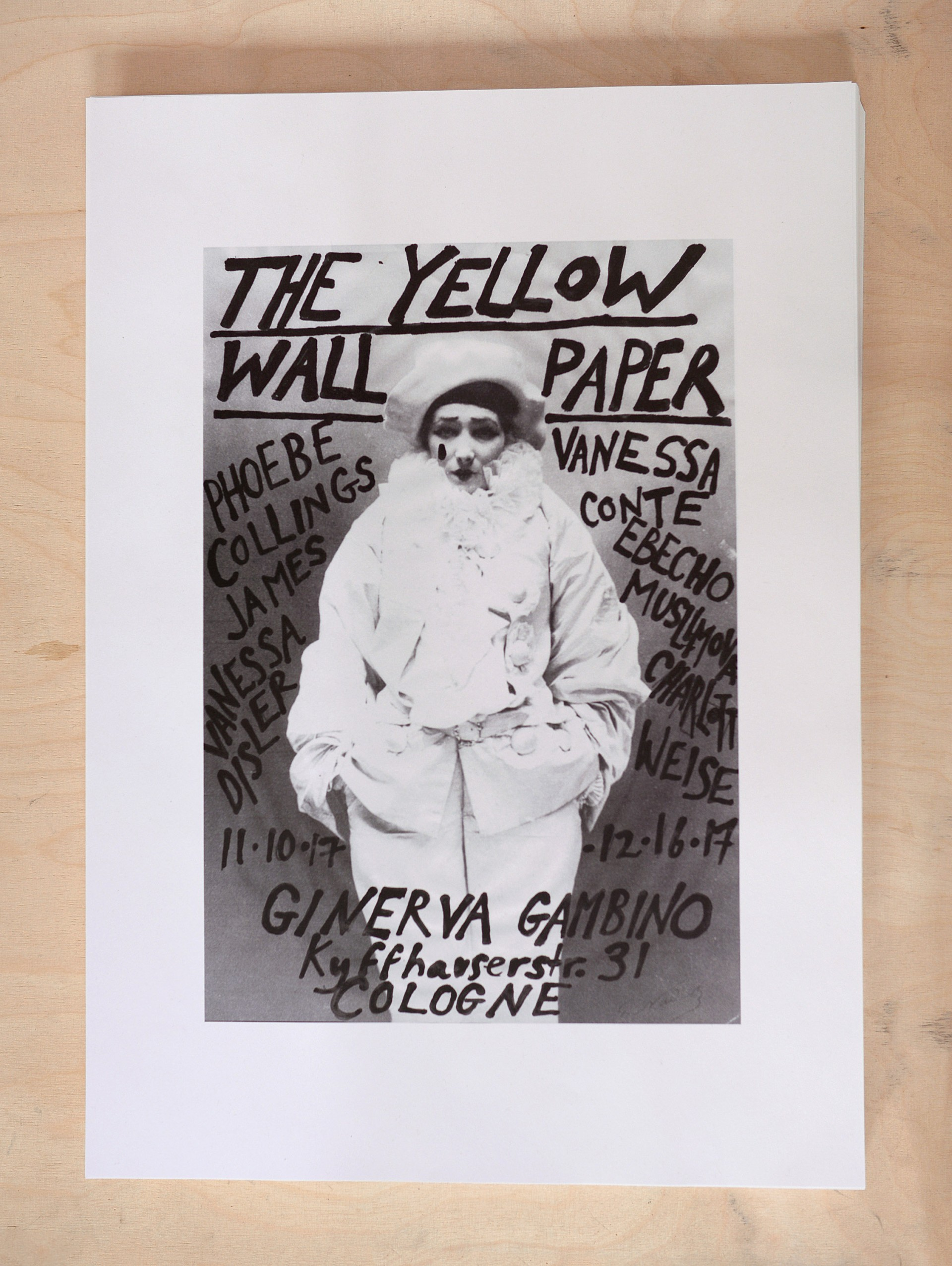 Ginerva Gambino The Yellow Wallpaper