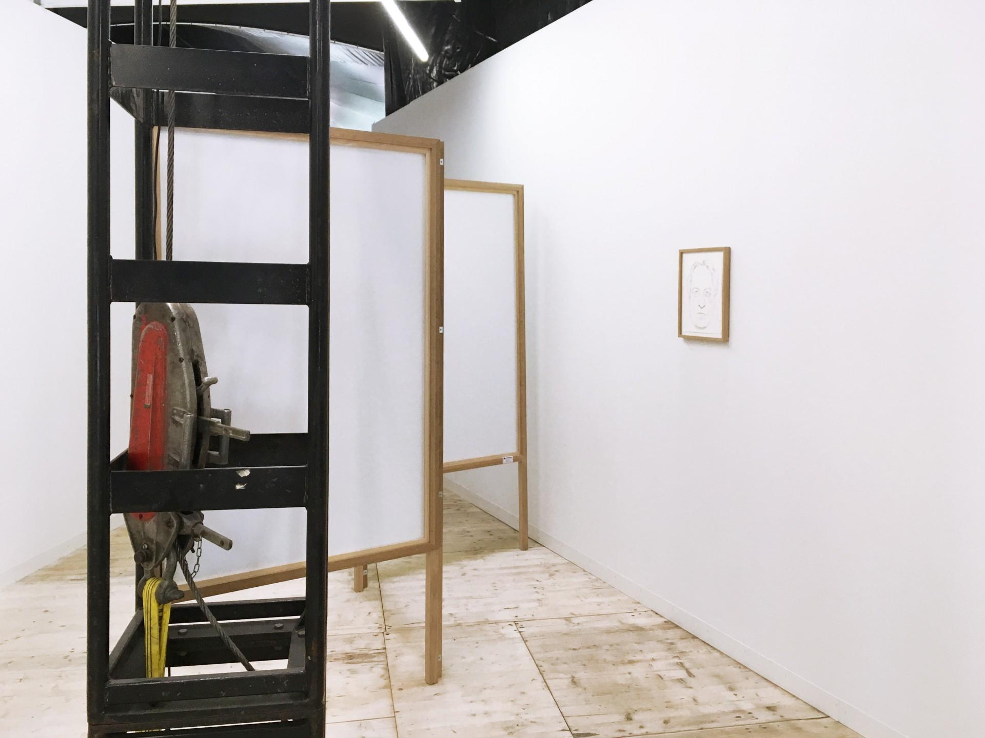 Ginerva Gambino Alex Wissel at Liste Art Fair Basel 2018