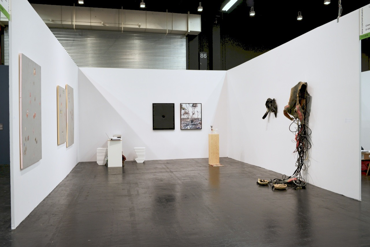 Ginerva Gambino Simone Gilges at Art Cologne 2016
