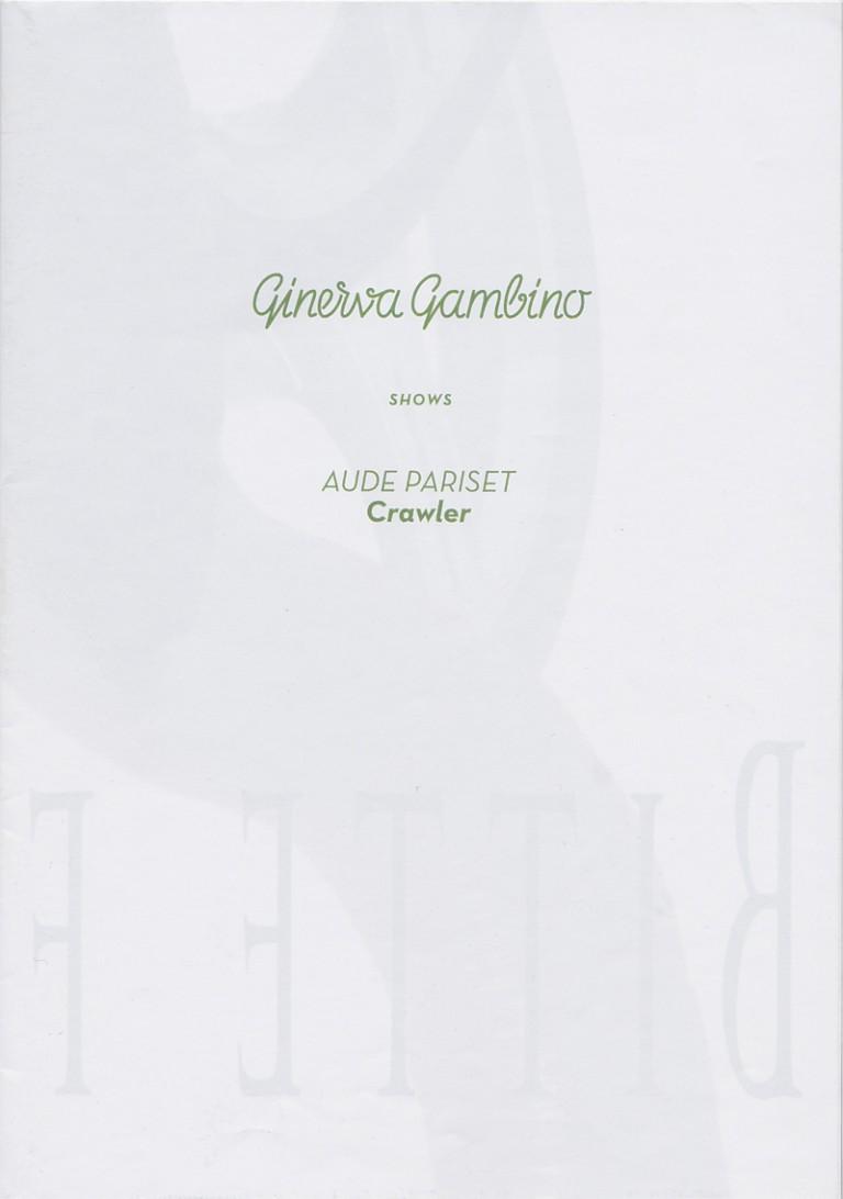 Ginerva Gambino Pariset Aude Crawler publication